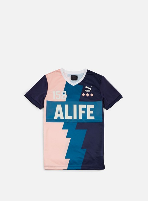 t shirt puma alife soccer t shirt peacoat