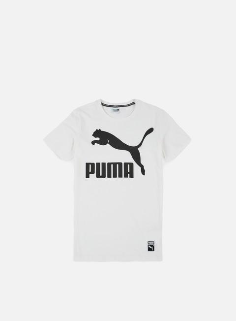 t shirt puma archive logo t shirt puma white