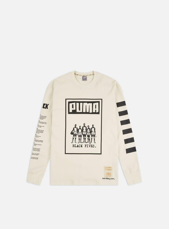 Puma Black 5's LS T-shirt