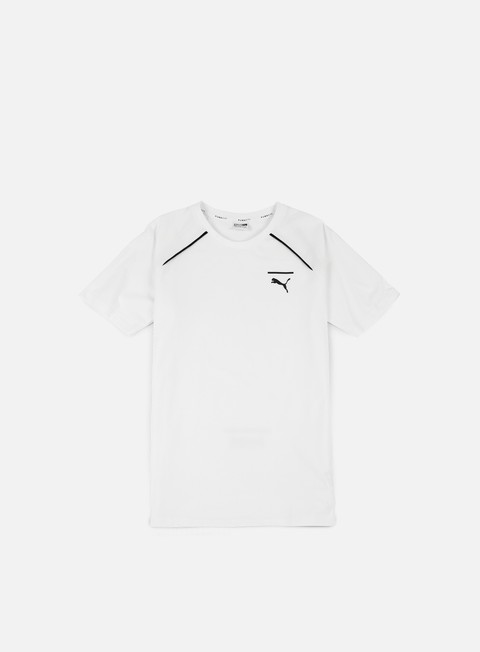 t shirt puma evo core t shirt puma white