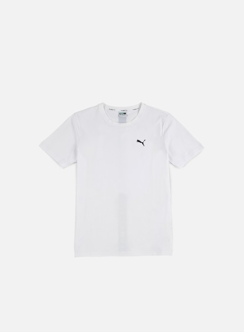 t shirt puma evo core t shirt white