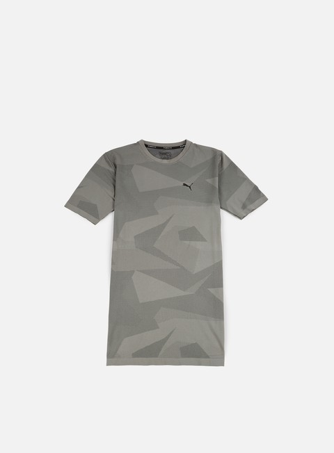 t shirt puma evoknit image t shirt medium grey heather