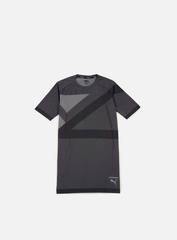 Puma - EvoKnit T-shirt, Puma Black