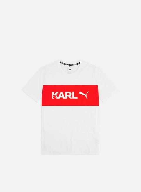 Outlet e Saldi T-shirt a Manica Corta Puma PUMA x Karl Lagerfeld T-shirt