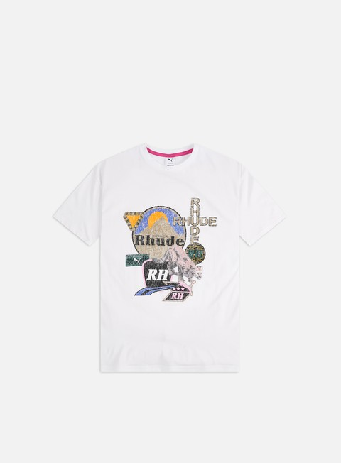 Short Sleeve T-shirts Puma Puma x Rhude Graphic T-shirt