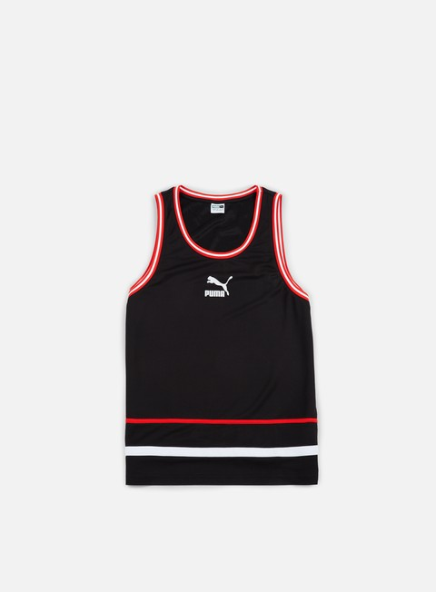 t shirt puma super puma tank top puma black