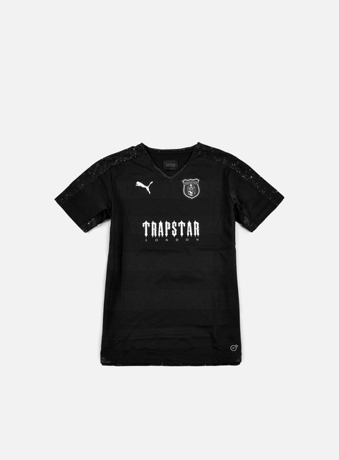 t shirt puma trapstar football kit black