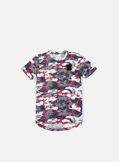 Puma - Trapstar Logo T-shirt, Barbados Cherry/Trap Camo