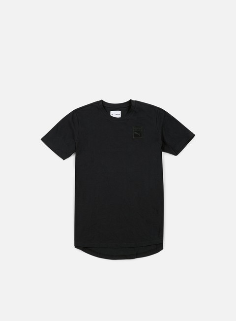 t shirt puma trapstar logo t shirt puma black