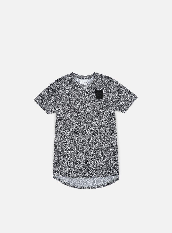 Puma - Trapstar Logo T-shirt, White Noise