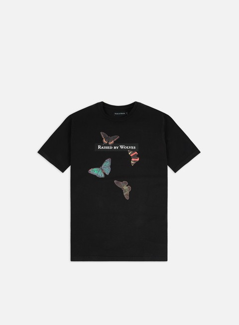 Short Sleeve T-shirts Raised by Wolves Butterflies T-shirt