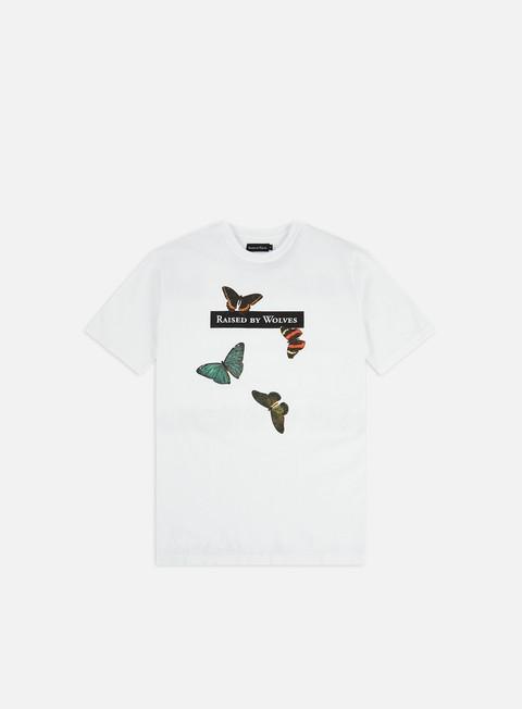 Outlet e Saldi T-shirt a Manica Corta Raised by Wolves Butterflies T-shirt