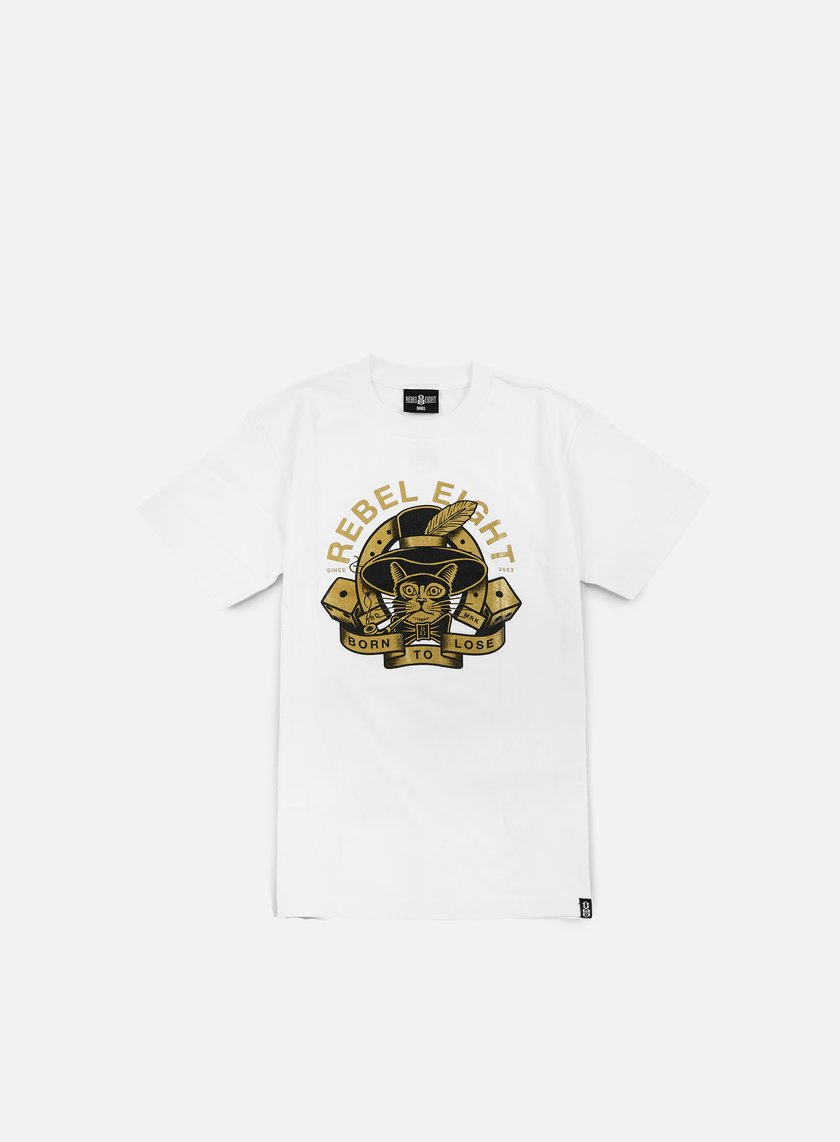 Rebel 8 - Bad Break T-shirt, White