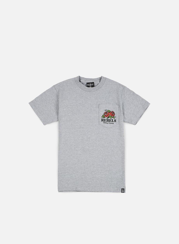 Rebel 8 - Centifolia Pocket T-shirt, Athletic Heather