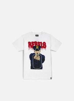 Rebel 8 - Cop Target T-shirt, White 1