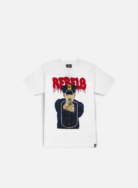 Outlet e Saldi T-shirt a Manica Corta Rebel 8 Cop Target T-shirt