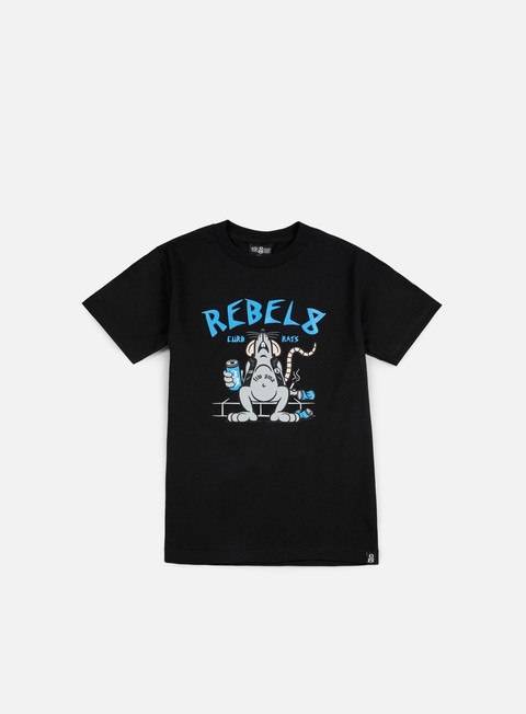 t shirt rebel 8 curb rats t shirt black