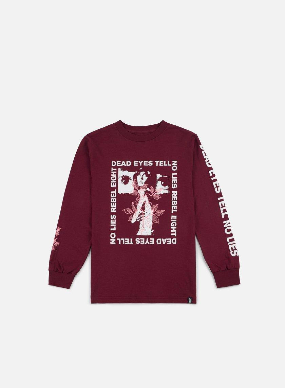 Rebel 8 Dead Eyes LS T-shirt