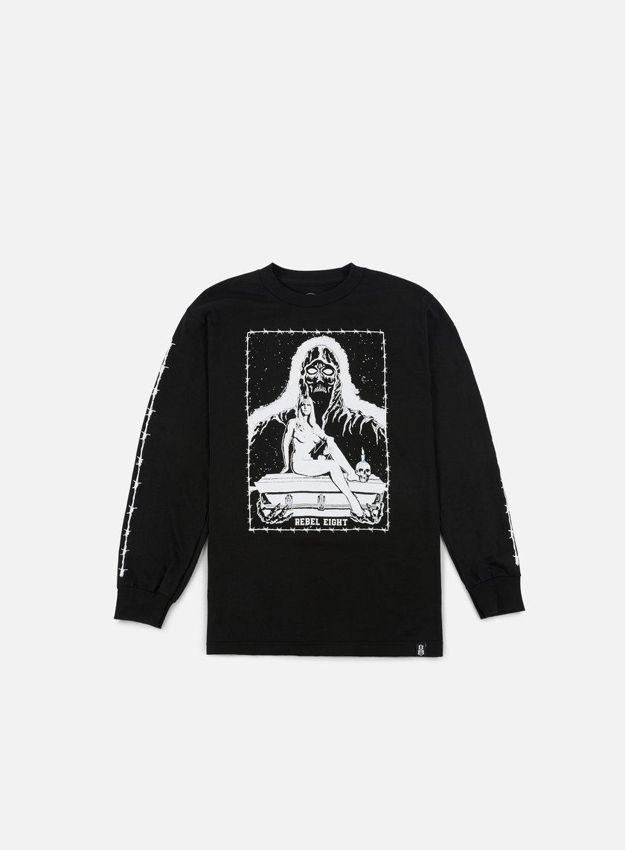 Rebel 8 Death Maiden LS T-shirt