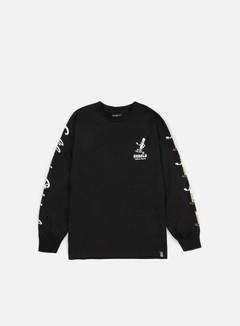 Rebel 8 - Die Slow LS T-shirt, Black 1