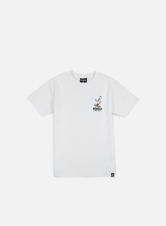 Rebel 8 - Die Slow T-shirt, White