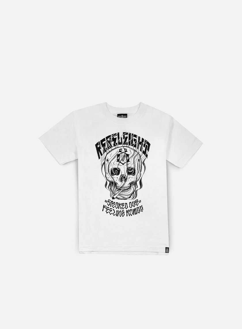 Rebel 8 - Feeling Rowdy T-shirt, White