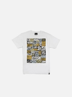 Rebel 8 - Giant Collage T-shirt, White 1