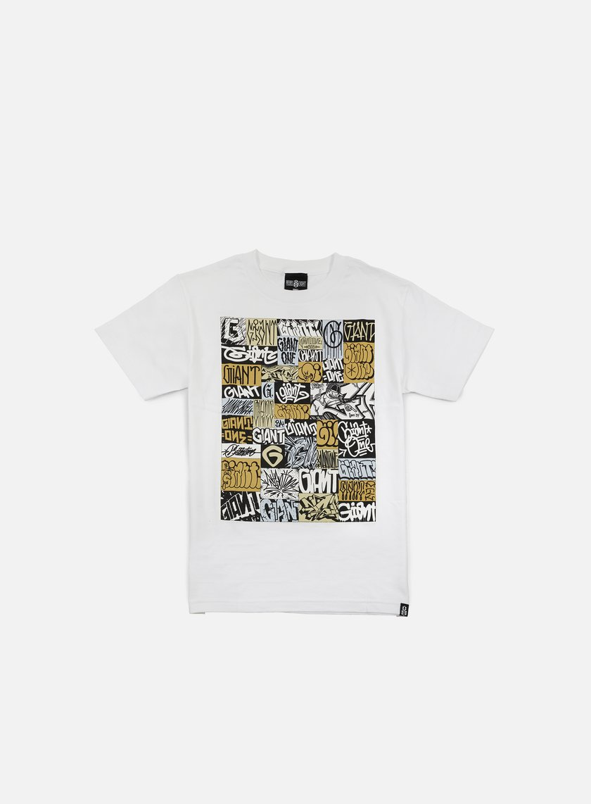 Rebel 8 - Giant Collage T-shirt, White