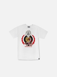 Rebel 8 - Grid Iron T-shirt, White 1