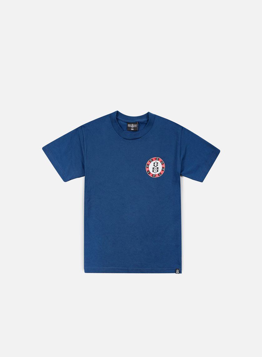 Rebel 8 - Hand Muckers T-shirt, Harbor Blue