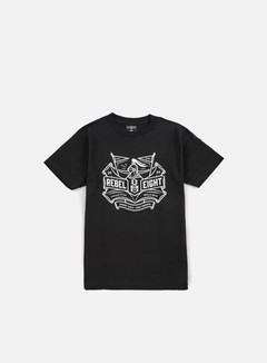 Rebel 8 - Hazy Knights T-shirt, Black 1