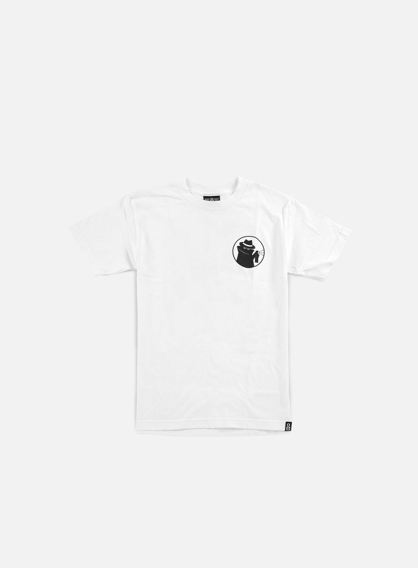 Rebel 8 - Hood Watch T-shirt, White