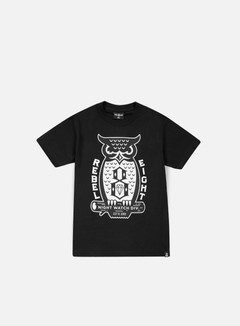 Rebel 8 - Night Watch T-shirt, Black 1