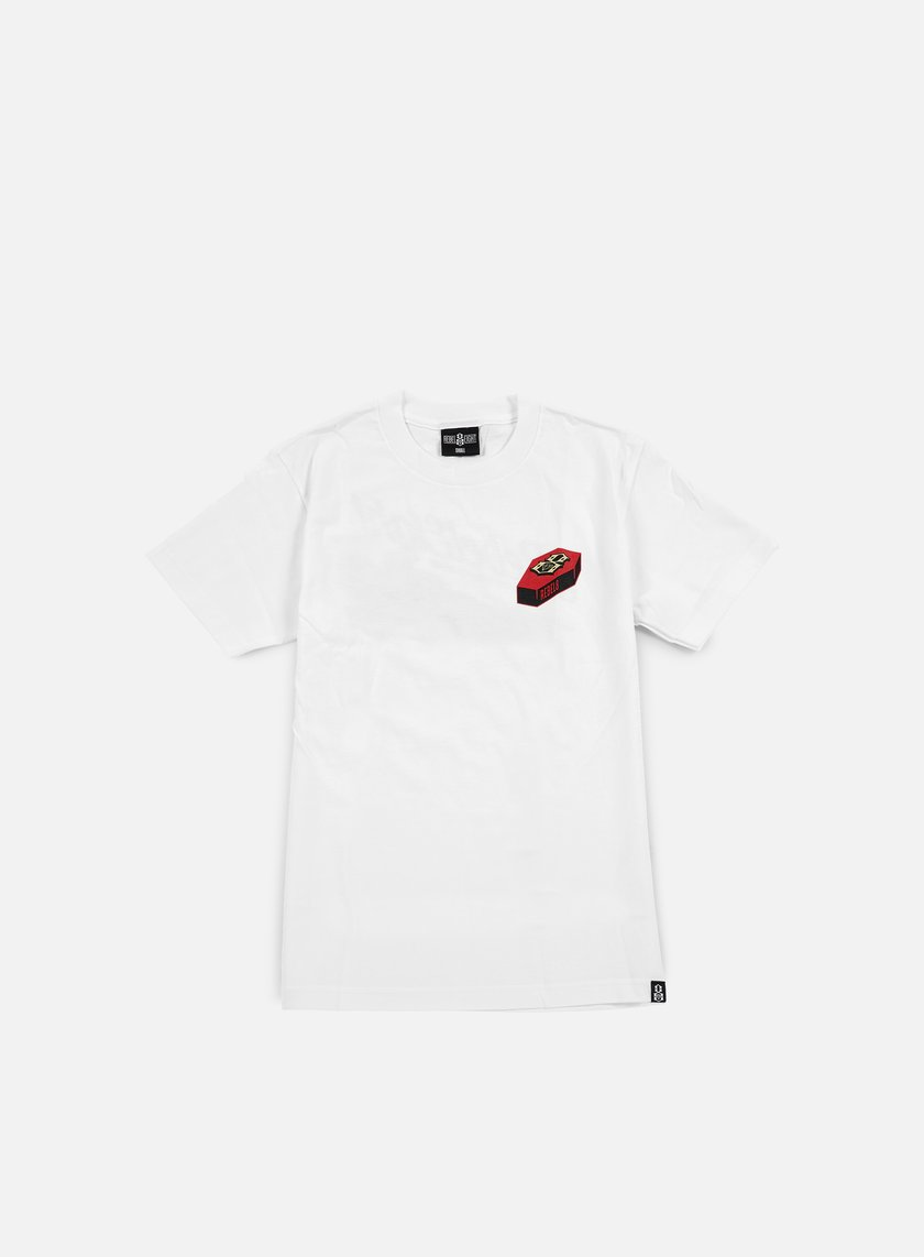 Rebel 8 - Nowhere Fast T-shirt, White