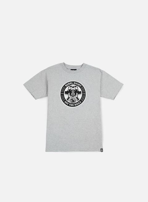 Outlet e Saldi T-shirt a Manica Corta Rebel 8 Off The Rails T-shirt