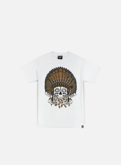 Rebel 8 - Press Your Luck T-shirt, White 1