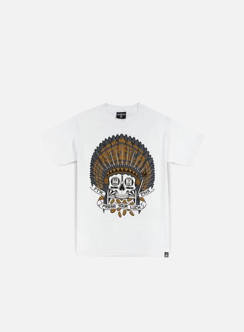 Outlet e Saldi T-shirt a Manica Corta Rebel 8 Press Your Luck T-shirt