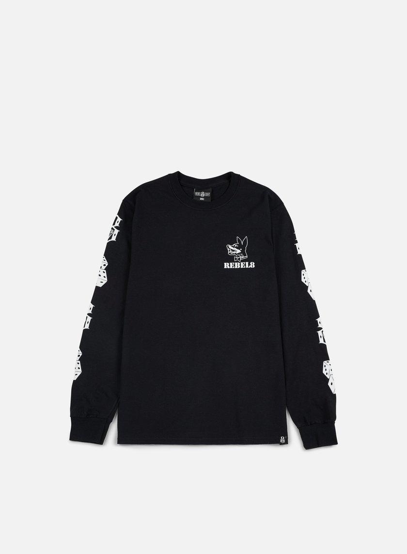 Rebel 8 Proper Fucked LS T-shirt