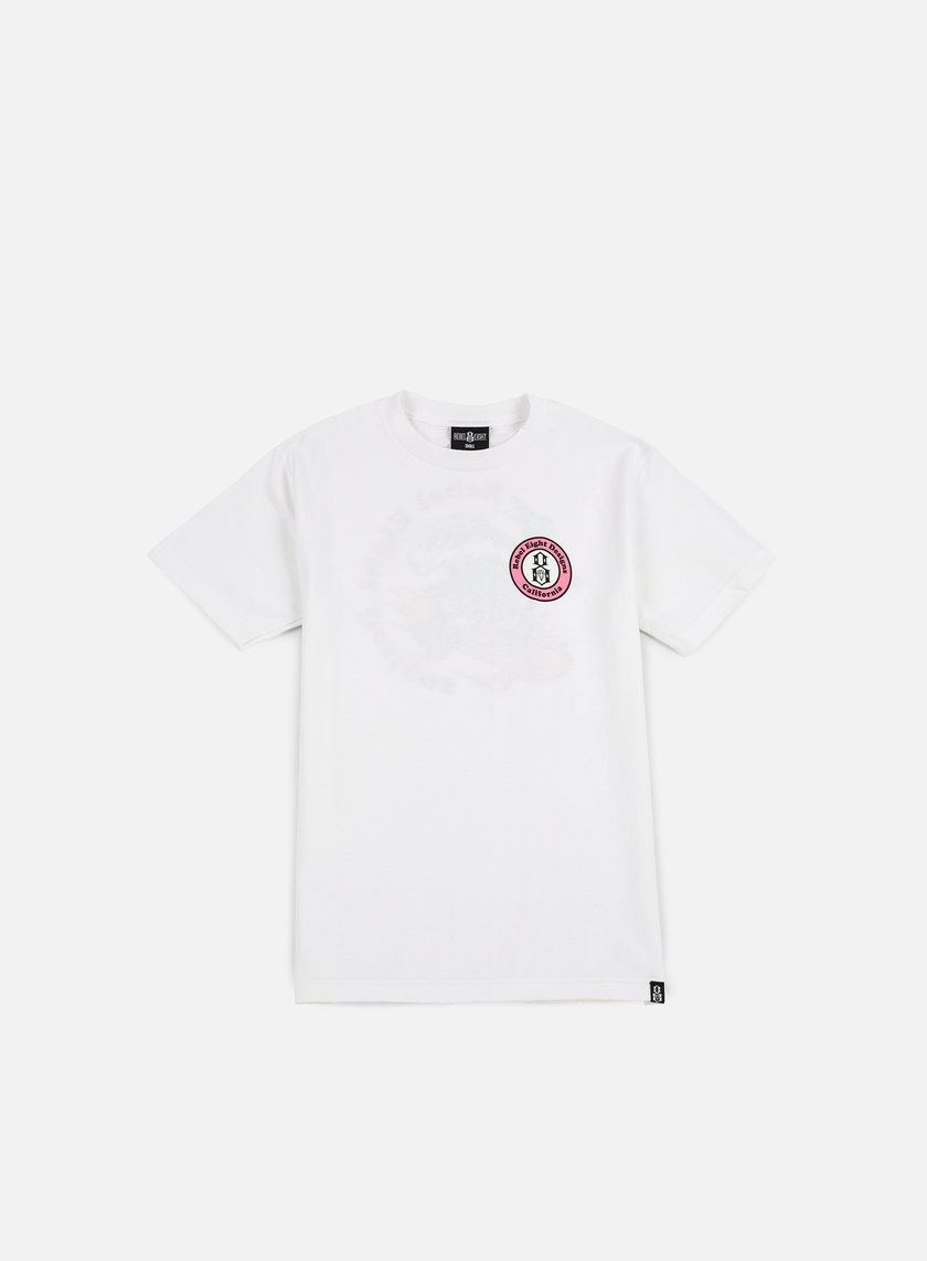 Rebel 8 - Rebel 8 Designs T-shirt, White