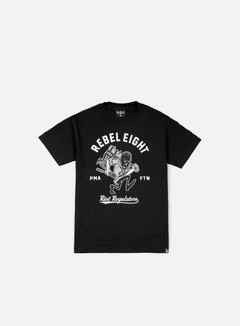Rebel 8 - Riot Regulators T-shirt, Black 1