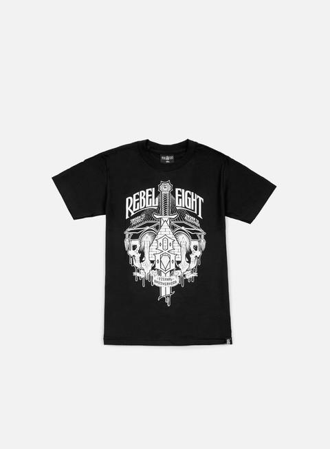 Outlet e Saldi T-shirt a Manica Corta Rebel 8 Secret Allegiance T-shirt