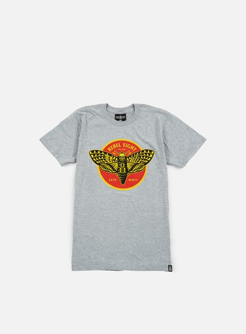 Outlet e Saldi T-shirt a Manica Corta Rebel 8 Silence T-shirt