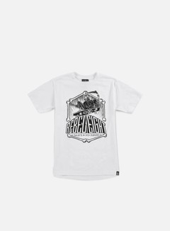 Rebel 8 - Skate And Deceased T-shirt, White 1
