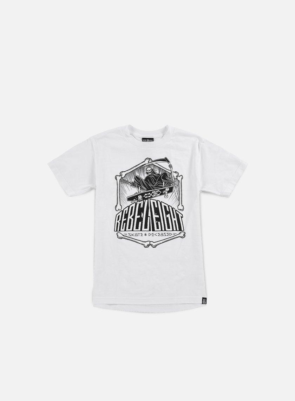 Rebel 8 Skate And Deceased T-shirt