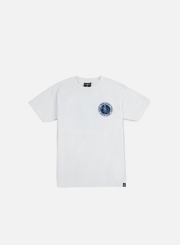 Rebel 8 - Skate Core T-shirt, White
