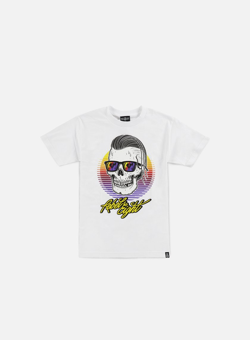 Rebel 8 - Sleeze T-shirt, White