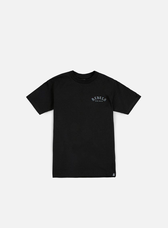 Rebel 8 - Slow Death T-shirt, Black