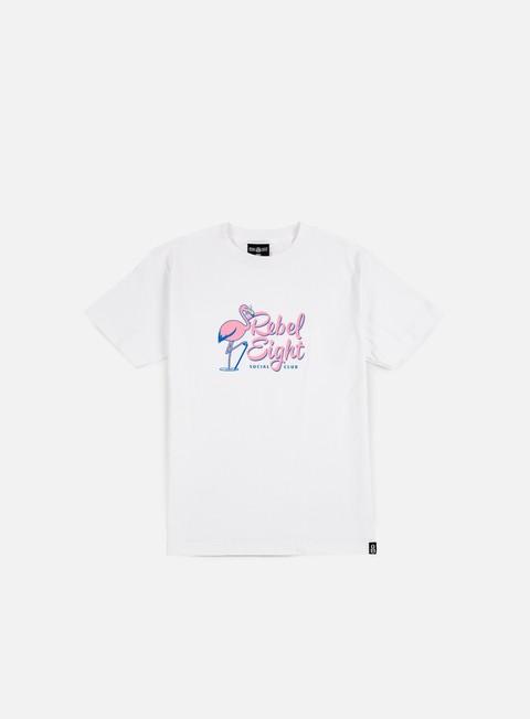 Outlet e Saldi T-shirt a Manica Corta Rebel 8 Social Club T-shirt