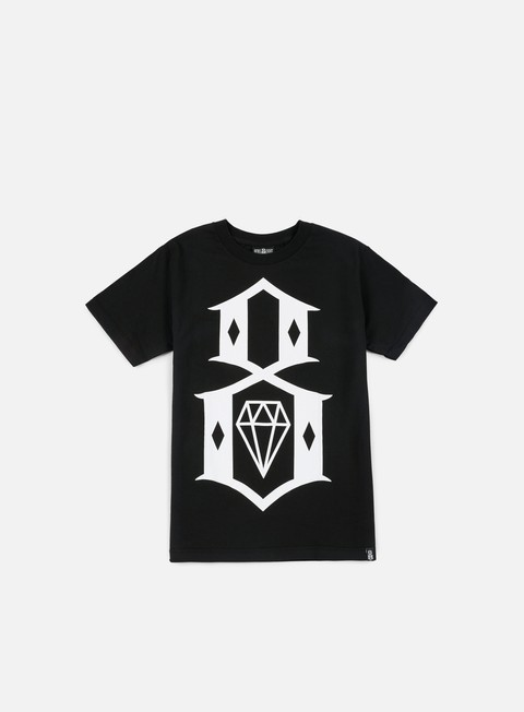 t shirt rebel 8 standard issue logo t shirt black