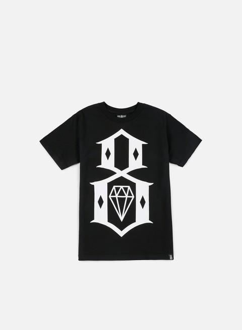 Outlet e Saldi T-shirt a Manica Corta Rebel 8 Standard Issue Logo T-shirt